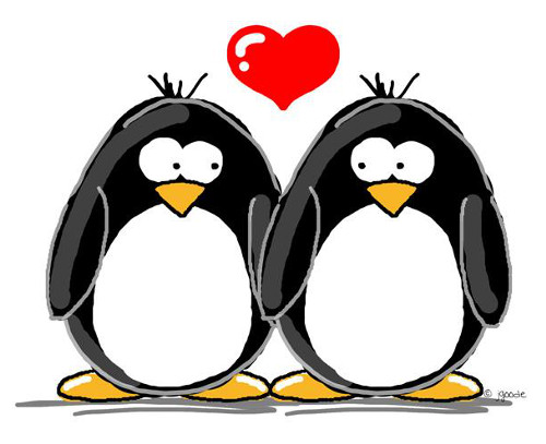 penguins-in-love