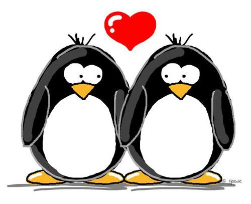 penguins-in-love